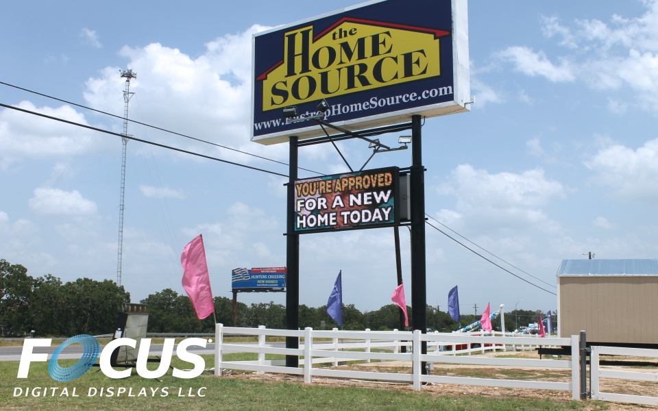 the home source focus digital displays