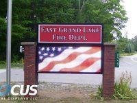 East Grand Lake Fire
